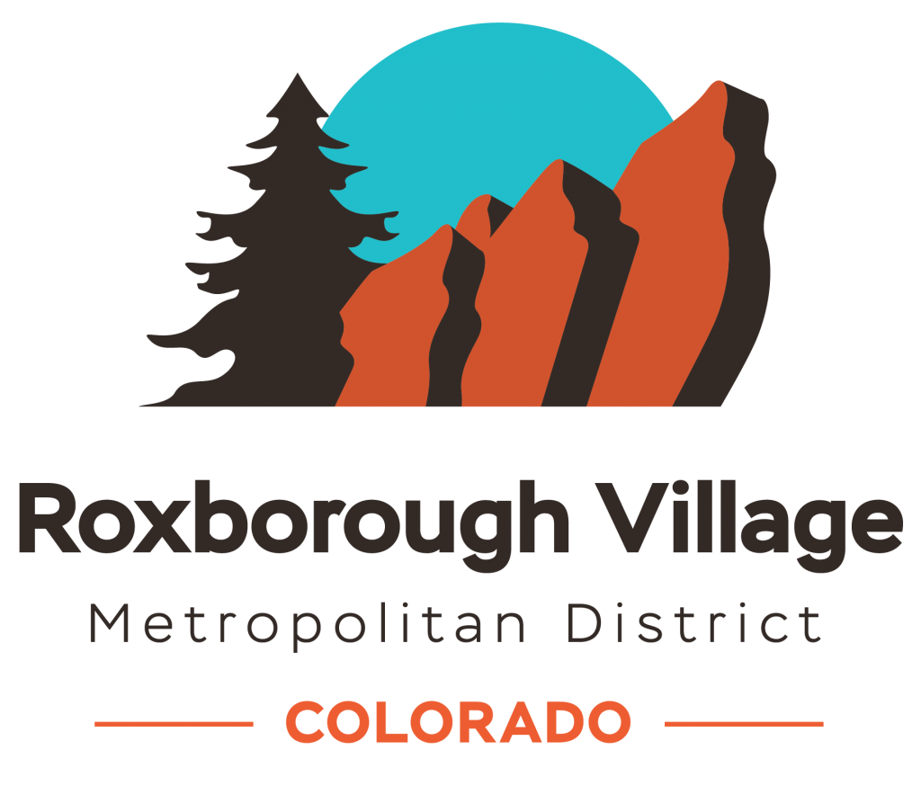 Roxborough Village Metro District Logo